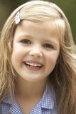 dziewczyna portreta ono uśmiecha się zdjęcia stock
