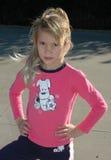 dziewczyna postawy Zdjęcie Stock