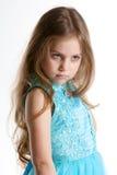 dziewczyna poważna Obraz Royalty Free