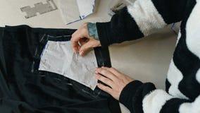 Dziewczyna projektanta mody remisów wzór Zdjęcia Stock
