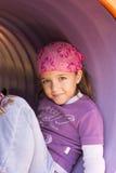 Dziewczyna przy boiskiem Zdjęcie Stock
