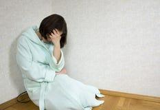 dziewczyna przygnębiona Fotografia Stock