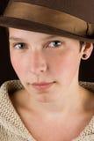 dziewczyna przypadkowy portret obrazy stock
