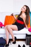 dziewczyna radosna Fotografia Stock