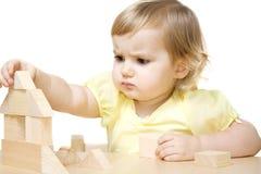 Dziewczyna robi domowi Zdjęcie Stock