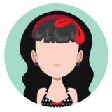 dziewczyna rockabilly Zdjęcie Royalty Free
