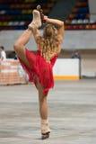 dziewczyna rollerscating Obraz Stock