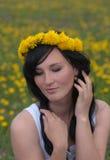 dziewczyna romantyczna Zdjęcie Royalty Free