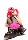 dziewczyna ruch punków Zdjęcie Royalty Free
