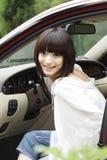 dziewczyna samochodów Obraz Stock