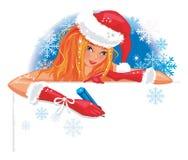 dziewczyna Santa seksowny Zdjęcie Stock