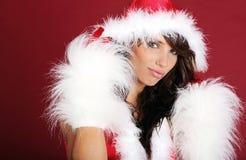 dziewczyna Santa seksowny Zdjęcia Stock