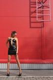 dziewczyna schodki Fotografia Stock