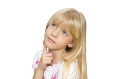 Dziewczyna sen Fotografia Stock