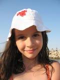 dziewczyna się uśmiecha Obrazy Royalty Free