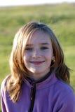dziewczyna się uśmiecha Obraz Royalty Free