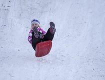 Dziewczyna skacze Fotografia Stock