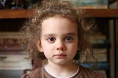 dziewczyna smutna Zdjęcia Stock