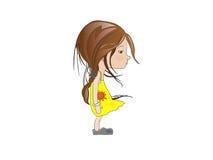 dziewczyna smutna Obraz Stock