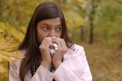dziewczyna smutna Zdjęcie Stock