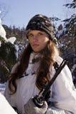 dziewczyna snajper Zdjęcie Royalty Free