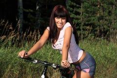 dziewczyna sporty. zdjęcia stock