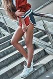 dziewczyna sporty zdjęcie royalty free