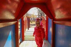 Dziewczyna stoi Obraz Stock