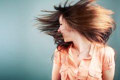 dziewczyna styl włosów Zdjęcia Royalty Free