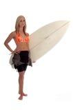 dziewczyna surfera zdjęcia stock