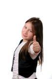 dziewczyna szczęśliwa Zdjęcia Royalty Free