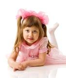 dziewczyna szczęśliwa Zdjęcia Stock