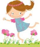 dziewczyna szczęśliwa Obrazy Royalty Free