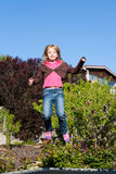 dziewczyna szczęśliwa fotografia stock