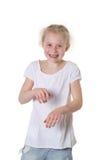 Dziewczyna taniec Zdjęcie Stock