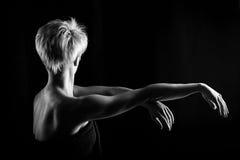 Dziewczyna taniec Obrazy Stock