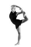 Dziewczyna taniec Fotografia Stock