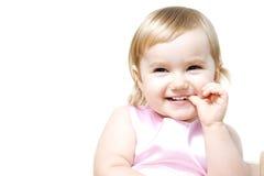 dziewczyna target336_0_ trochę Fotografia Stock