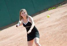 dziewczyna tenis Obrazy Stock