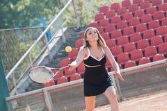 dziewczyna tenis Zdjęcie Stock