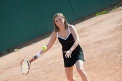 dziewczyna tenis Obraz Stock