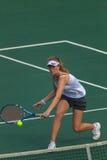 Dziewczyna tenisa Balowa sieć Obrazy Stock