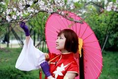 dziewczyna tradycyjnej Zdjęcia Royalty Free