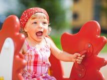 dziewczyna trochę bawić się zdjęcie stock