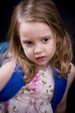 dziewczyna trochę poważna Fotografia Stock