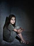 dziewczyna trochę smutna obrazy royalty free