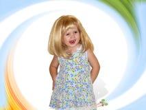 dziewczyna trochę Zdjęcie Stock