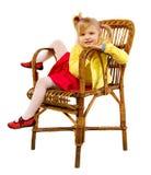 dziewczyna trochę Obrazy Royalty Free
