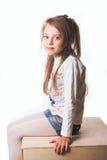 dziewczyna trochę Obraz Stock