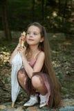 dziewczyna trochę Obrazy Stock